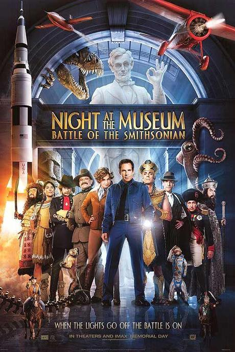 La Nuit au Musée 2 : l'affiche