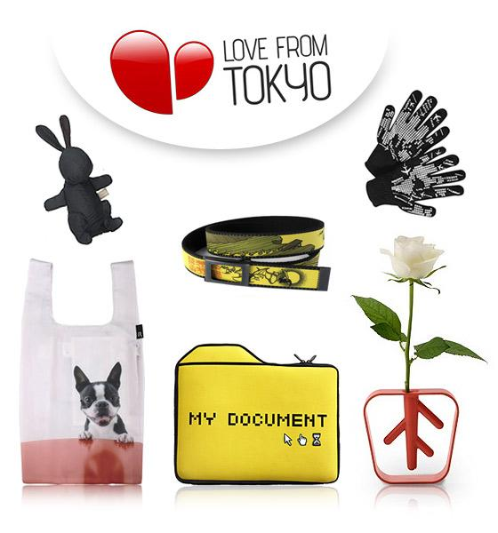 love from tokyo - accessoires japon