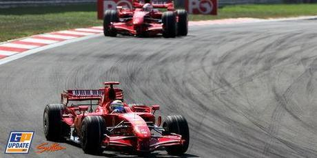Doublé Ferrari à Istanbul