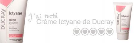 Bonne crème hydratante : Ictyane de Ducray