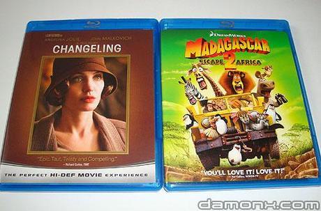 [Arrivage] Blu Ray L'échange et Madagascar 2