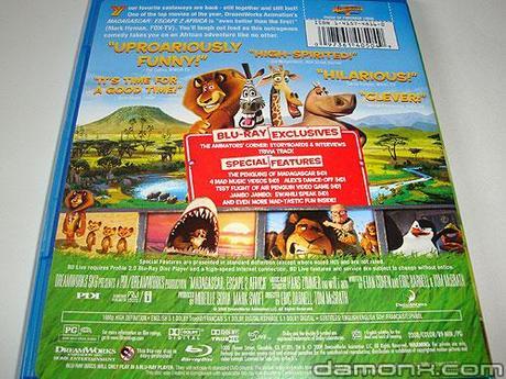 Blu Ray Madagascar 2