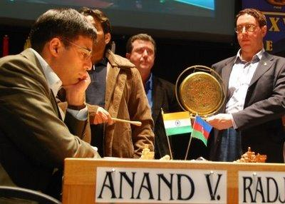 L'indien Viswanathan Anand (photo Chessbase)