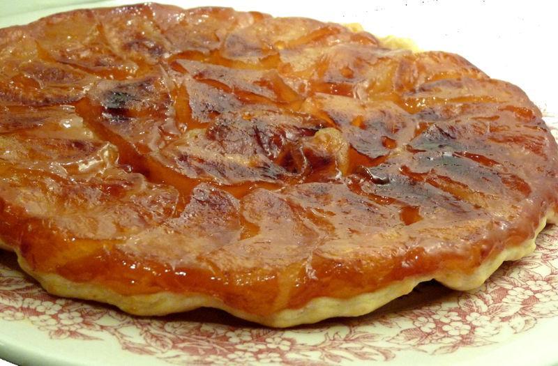 Souvent Tarte fine Tatin au caramel de beurre salé - Paperblog JB88