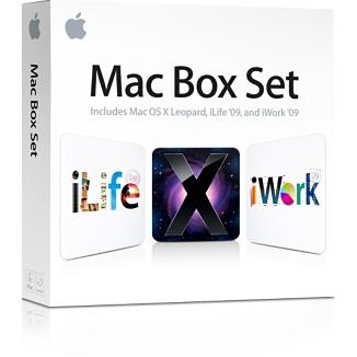 logiciels  Mac Box set disponible en magasin.