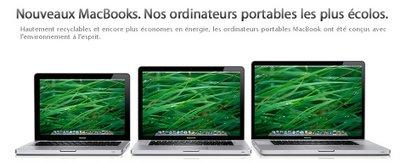 COMMENT] Apple Macbook ecolo