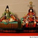 hina matsuri - 2 poupées