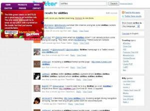 Skittles.com - communication innovante