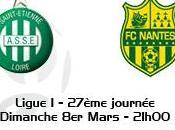 Ligue 27ème journée Verts dans l'obligation gagner contre Nantes