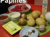 Traditionnel hachis Parmentier