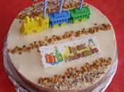 chocolats d'anniversaire dacquoise coco
