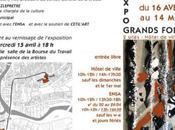 """Projection """"Révoltes instables"""" l'Exposition """"Grands Formats"""" Aubusson avril 2009"""