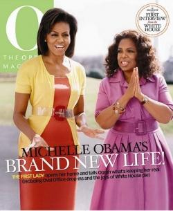 Michelle Obama et Oprah Winfrey en Une de O The Oprah Magazine