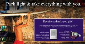 La banque HSBC offre un Kindle 2 à ses nouveaux clients