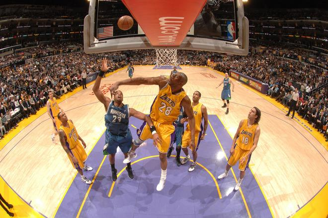 Wolves 90 @ 110 Lakers (06.03.2009)