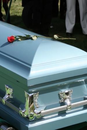 cercueil en anglais