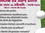 "Printemps libertés"" Zénith mars 2009"