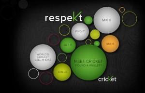 Get some respekt - Cricket