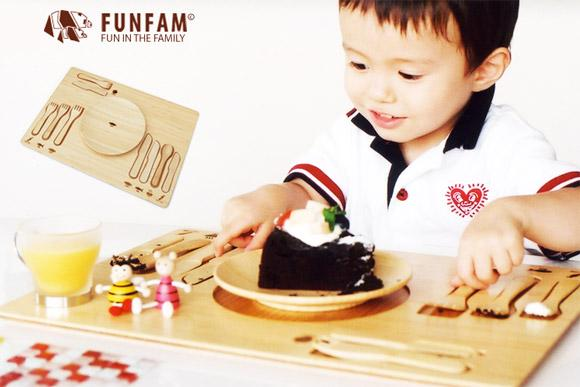 FUNFAM // table manners set