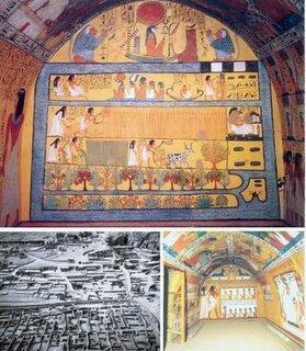 Que sont devenus les artisans qui ont travaillé sur les tombes royales de la Vallée des Rois ?