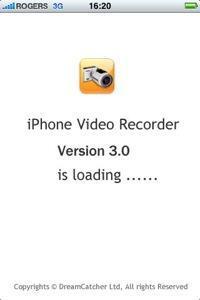 iphone video recorder 3g 10 applications que jutilise sur mon iPhone jailbreaké
