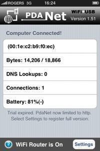 pdanet 10 applications que jutilise sur mon iPhone jailbreaké