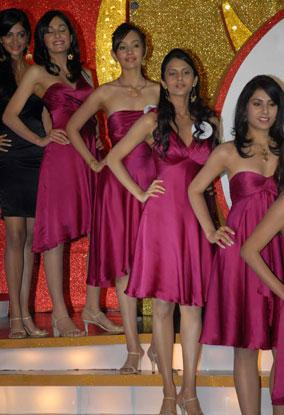 The participants of Femina Miss India 2009 pageant unveiled in Mumbai