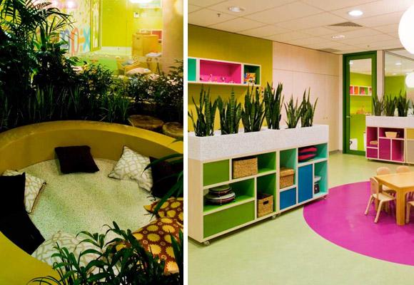 GEYER INTERIOR DESIGNERS // treehouse stockland childcare (photos : Tyrone Branigan)