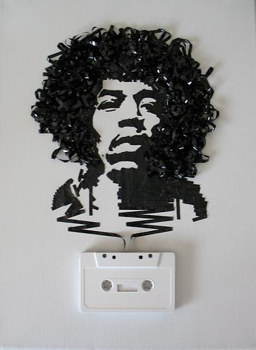 Ghost in the Machine: Jimi Hendrix par iri5