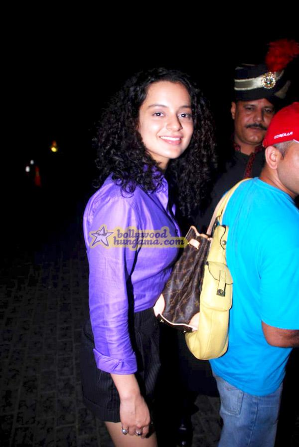 [PHOTOS] Kangna Ranaut's birthday bash