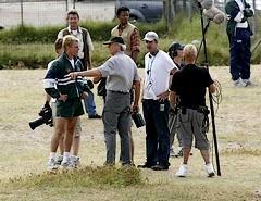 The Human Factor : photos de plateau du prochain Clint Eastwood !!!