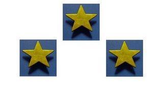 Les trois étoiles du 24 mars 2009
