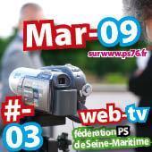 Web Tv ps76 76 Actu mars 2009