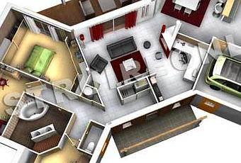 Mod le butterfly plan de maison originale d couvrir for Plan maison en t
