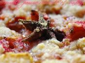 Crumble pomme, rhubarbe badiane