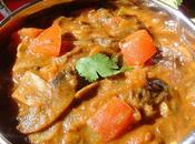 champignons Curry