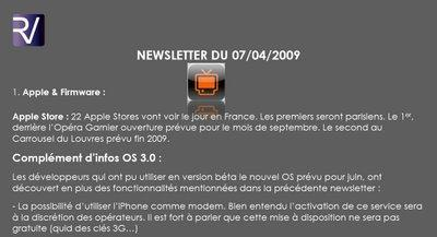 TV d'Orange : Newsletter n°16 parue !