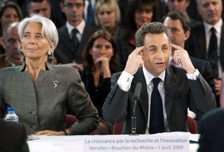 Nicolas Sarkozy est séquestré