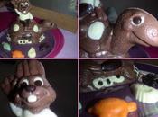 lièvre, tortue chocolat