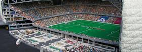 Stade de foot LEGO