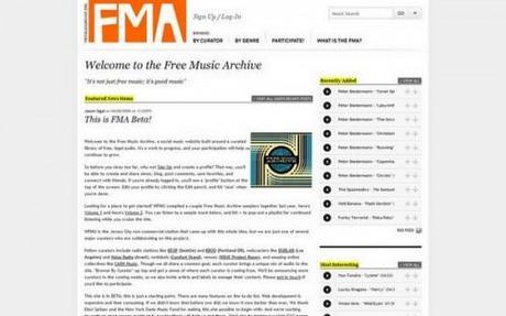 free music archive 3 500x312 Free Music Archive, téléchargez 5000 musiques librement et légalement