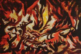 Pollock - The Flame, 1934-1938