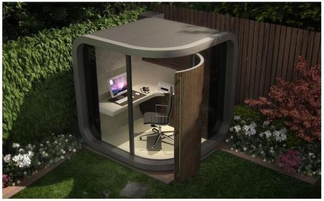 Office Pod - Un bureau dans son jardin