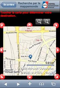 hrs hotel reservation service iphone