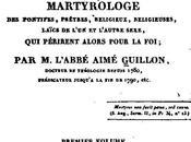 Persécution française, génocide catholique cohorte martyrs
