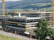 Certifié Minergie hydro-locale, nouveau bâtiment Jaeger-LeCoultre ouvrira portes décembre 2009.
