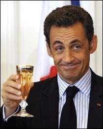 Sarkozy et le droit à l'ironie