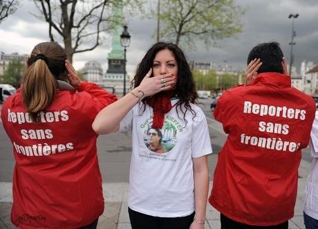 Rassemblement pour rompre le silence sur le sort de Guy-André Kieffer