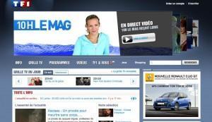 TF1 - nouveau site web