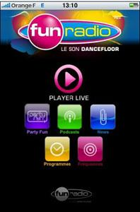 Fun Radio lance son application Iphone !